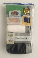 Fruit of the Loom Boys 5 Pair Boxer Briefs, Size L (14-16)