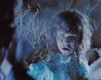 Linda Blair Signed 8x10 Photo - REGAN from The Exorcist - SWEET DREAMS!!! H328