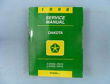 Service Manual, 1998 Dodge Dakota (AN), 2WD & 4WD, 81-370-8110