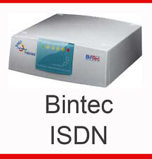 ISDN-ANLAGE + BINTEC BINGO PLUS PROFI ROUTER TOP CONDITION INVOICE GEWÄHRLEISTUN