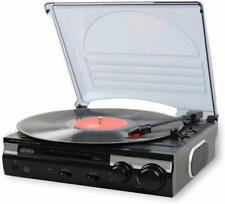 Jensen Jta-230 3 Speed Stereo Turntable w/ Built in Speakers Aux in Vinyl to Mp3
