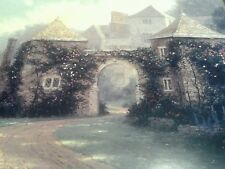 Entrance to the Manor House Print by Thomas Kinkade in 11 x14 Matte with COA