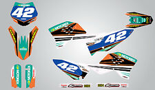 2009 - 2015 Full Graphics, custom kit for KTM 65- STRIKE STYLE - sticker kit