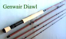 Fly Rod 9 ft 6 in 7/8 wt 5 pce Genwair Diawl  Ex Display Predator  Lifetime gtee