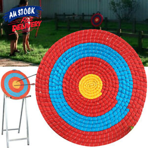 Shooting Straw Arrow Single Layer Target Bow Decor Archery Outdoor Sports ACB#