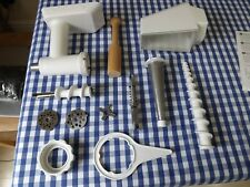 KitchenAid Fruit and Vegetable Strainer and Food Grinder attachment set.
