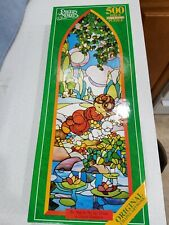 Precious Moments Cork Board Puzzle 500pc He Maketh Me Lie Down In Green Pastures