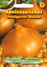 Zwiebeln Stuttgarter Riesen Allium Samen Saatgut Gemüse Sämereien Onion Seeds