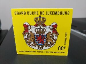 LUXEMBOURG 1989 25TH ANN ACCESSION GRAND JUKE JEAN BOOKLET MINT CONDITION
