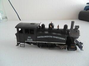 Bachmann 0-4-0 side tank steam locomotive Sacramento Northern #2340