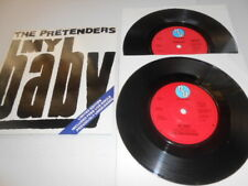 The Pretenders, My Baby U.K Import Linited Double 45, Excellent