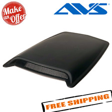 Avs 80004 Large Single Hood Scoop With Smooth Black Finish Fits More Than One Vehicle
