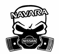 Calavera NISSAN NAVARA 4x4 etc... Tuning sticker auto Fun pegatinas racing