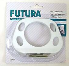 Franklin Brass D2405W Futura Bath Toothbrush & Tumbler Holder White Finish