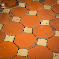 More details for stunning 18th c octagonal and square church floor tiles – 7 sqms