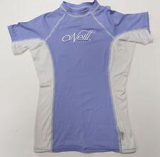 O'Neill Purple Swim Shirt Short Sleeve Top Size Small Purple Girls Youth