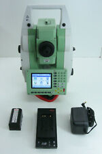 """LEICA TCRP1203+ 3"""" R400 ROBOTIC TOTAL STATION FOR SURVEYING ONE MONTH WARRANTY"""