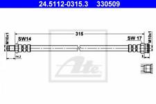 Bremsschlauch für Bremsanlage Hinterachse ATE 24.5112-0315.3