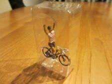 Cycliste Tour de France TdF, maillot blanc à pois rouges, Champion, 1/43