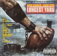 The Longest Yard Original Soundtrack [PA] Various Artists (CD 2005) LIKE NEW
