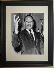 Martin Luther King Jr. MLK I have a Dream Civil Rights Framed & Matted Photo