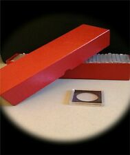 30-2x2 SNAPLOCK PLASTIC COIN HOLDERS W STORAGE BOX *ASSORTED YOU CHOOSE SIZES*