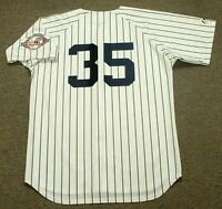 9c3604057c0 MIKE MUSSINA New York Yankees 2003 Majestic Cooperstown Home Baseball Jersey