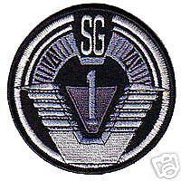 STARGATE 3.5 INCH SG-1 PATCH - 35SG1