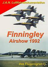 DVD Finningley Airshow 1992 Blue Angels Concorde Vulcan