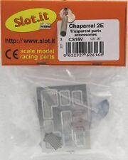Slot It Sics16V Chaparral 2E Transparent & Metal Etched Parts New 1/32 Slot Car