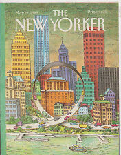 MAY 29 1989 THE NEW YORKER magazine ( COVER ONLY ) - HIGHWAY UPSIDE-DOWN RAMP