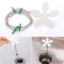 2pcs Drain Wig Bathroom Shower Chain Cleaner Durable stock Hair Catcher Cleaner