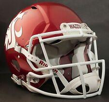 "WASHINGTON STATE COUGARS Football Helmet Nameplate ""WAZZU"" Decal/Sticker"