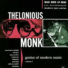 The Lonious Monk - Genius of Modern Music Vol.1: Remastered [New & Sealed] CD