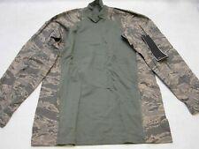 MASSIF USAF AIRMAN BATTLE SHIRT COMBAT TOP ABDU TIGER STRIPE LARGE FR AIR FORCE