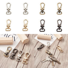 5pcs Alloy Flower Swivel Lobster Claw Clasps Floral Trigger Snap Hooks