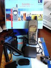 THURAYA HUGHES 7101 SAT/MOB PHONE +SIM CARD INTERMATICA,SAT,GSM and GPS technol.