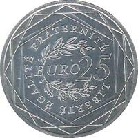 France - 25 Euro 2009 - Semeuse en Argent // Pièce de Monnaie jamais circulé