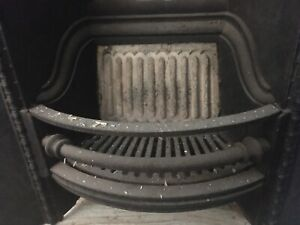 Fireplace Black Cast Iron