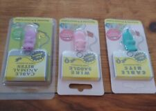 New listing 3 Cute New Cable Bites Cell Phone Cord Protectors Pig Alligator Hippo iphone