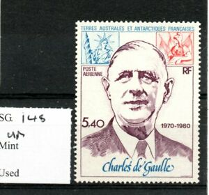French Southern & Antarctic Territories 1980 De Gaulle Airmail SG148 MNH