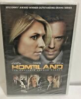 Homeland: The Complete Second Season DVD 4 Disc Set Claire Danes Damian Lewis