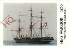 Picture Postcard; HMS Warrior