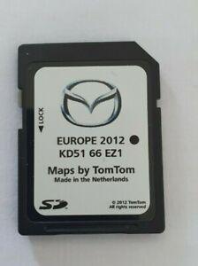 Mazda 3,6,CX-5 2012 2013 2014 NB1TomTom Navigation SAT NAV SD Card KD51 66 EZ1