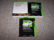 1993 Toyota Camry Shop Service Repair Manual LE XLE SE Deluxe 2.2L 3.0L V6 Wagon