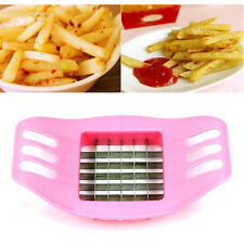 New French Fry Potato Chip Cut Cutter Fruit Slicer Chopper Chipper Grater Dicer