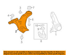 TOYOTA OEM 13-17 Camry Front-Lower Control Arm 4806807050