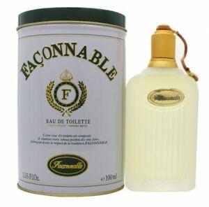 FACONNABLE HOMME EAU DE TOILETTE EDT 100ML SPRAY - MEN'S FOR HIM. NEW