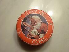 Lump Of Coal in a Christmas Tin Christmas Gift
