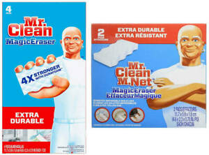 Mr. Clean Extra Durable Magic Eraser, Extra Power, 2-4 ct